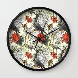 My Deer Friend Wall Clock