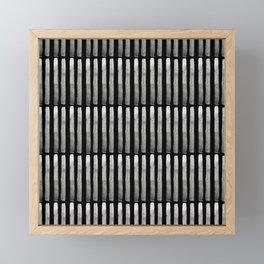 Blacksticks Matchsticks Framed Mini Art Print