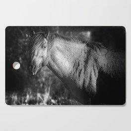 Garcia No. 2-Pryor Mustangs bw Cutting Board