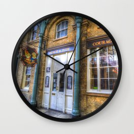 The Punch And Judy Pub Covent Garden Wall Clock