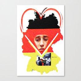 Berlin Christmas Market Canvas Print