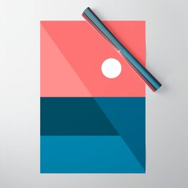 Geometric Landscape 11 Wrapping Paper