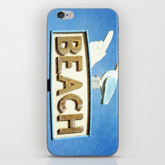 Beach iPhone & iPod Skin