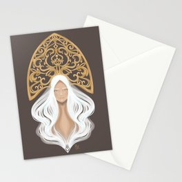 Siberian Queen Stationery Cards