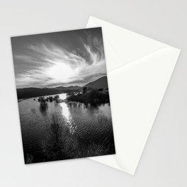 Lake Hodges and Bernardo Mountain Stationery Cards