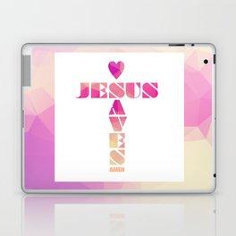 Jesus Saves Laptop & iPad Skin