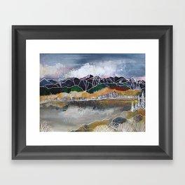 The Glass Lake Framed Art Print