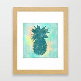 Tropical Pineapple Framed Art Print