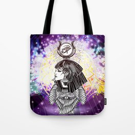 Goddess Isis and the Reigning Light Tote Bag