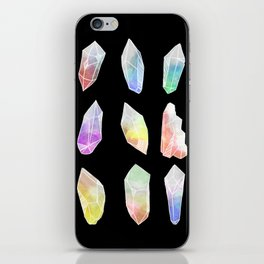 Crystal Collection: Watercolour Pastel iPhone Skin