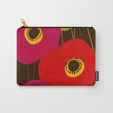 Red Poppy Flowers by Friztin Carry-All Pouch