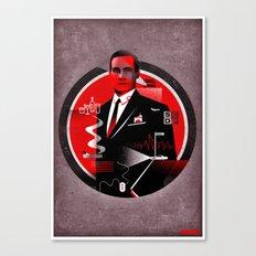 Mad Men Poster Canvas Print