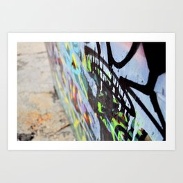 Thought in color Art Print