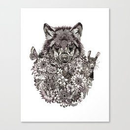 Wolf Pack Canvas Print