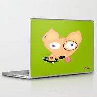 rocky Laptop & iPad Skins featuring Rocky by Designs By Misty Blue (Misty Lemons)