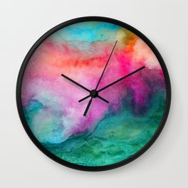 Staring at the Ceiling Wall Clock