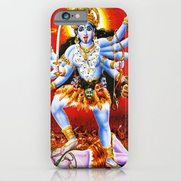Hindu Kali 15 iPhone Case
