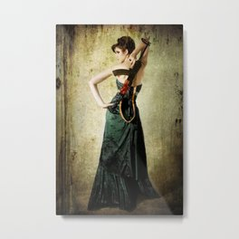 Gowns and Ammo AK Metal Print