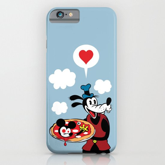 MICKEY'S PIZZA iPhone & iPod Case