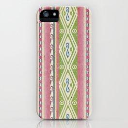 Peruvian prehispanic pattern 1 iPhone Case