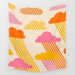 Pink Skies Wall Tapestry