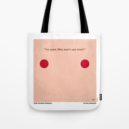 No076 My Showgirls minimal movie poster Tote Bag