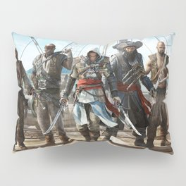 Assassin's Creed Black Flag Pillow Sham