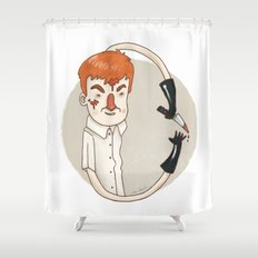 Dexter (Alphabet series TV) Shower Curtain