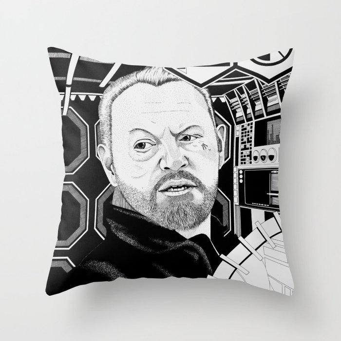 Jared Harris Throw Pillow