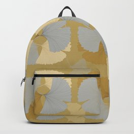 Ginkgo Leaves in Formation Backpack