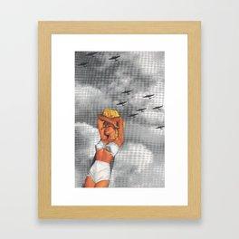 War L'Amour Framed Art Print
