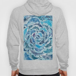 Water color dolphins Hoody