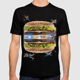 Hamburguesa la guerra T-shirt