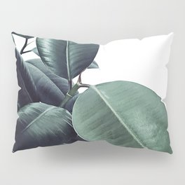 Ficus Elastica #18 #White #foliage #decor #art #society6 Pillow Sham