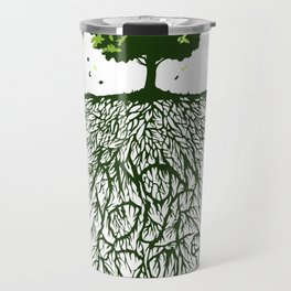 Know your roots Abstract Travel Mug