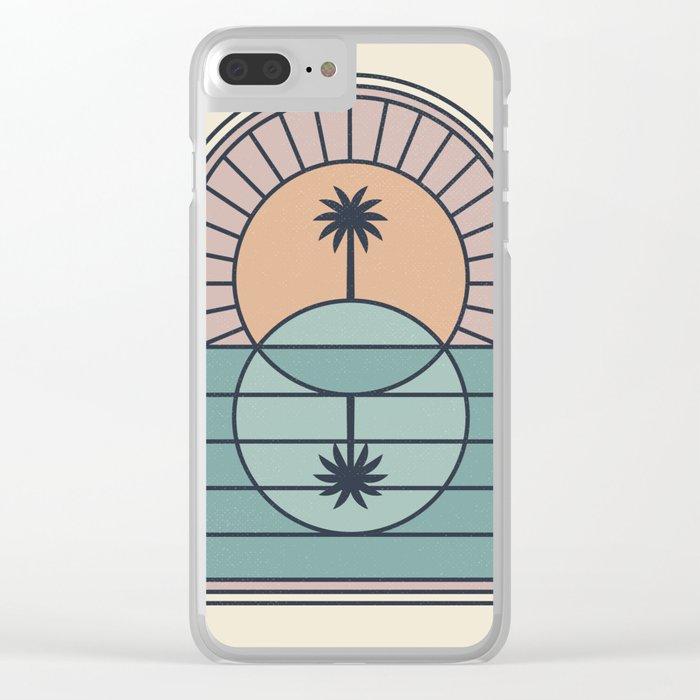 Venn Island Clear iPhone Case
