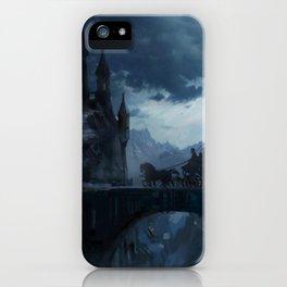 Dark castle iPhone Case