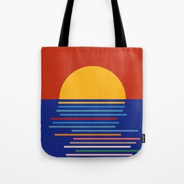 Sunset Sicily Tote Bag