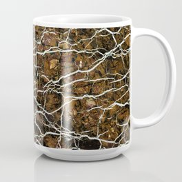 Abstract mineral texture Coffee Mug