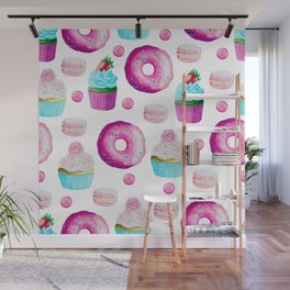 Fun Sweets Wall Mural