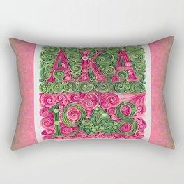 Alpha Kappa Alpha 1908 Rectangular Pillow