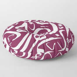 Arabic Calligraphy Pattern3 Floor Pillow