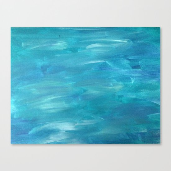Curious Currents Canvas Print