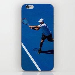Tennis player iPhone Skin