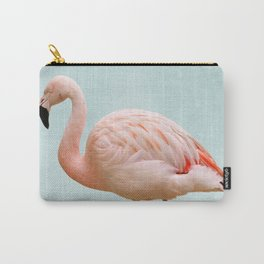 Flamingo Summer Vibes Carry-All Pouch