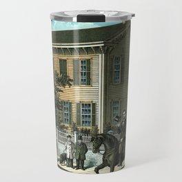 Abraham Lincoln's Return Home Travel Mug