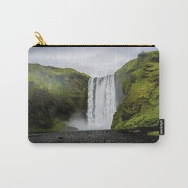 Skogafoss Waterfall Iceland Carry-All Pouch
