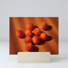 Oranges still life photography. Mini Art Print