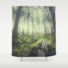 Only way is up Shower Curtain