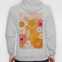 Mother Lion and cub II Hoody